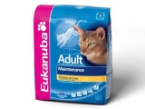 Eukanuba Cat Adult Mainenance rich in Chicken & Liver \ Екануба сух.д/кошек Курица/Ливер
