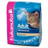 Eukanuba Cat Adult Mainenance rich in Lamb & Liver \ Екануба сух.д/кошек Ягненок/Ливер